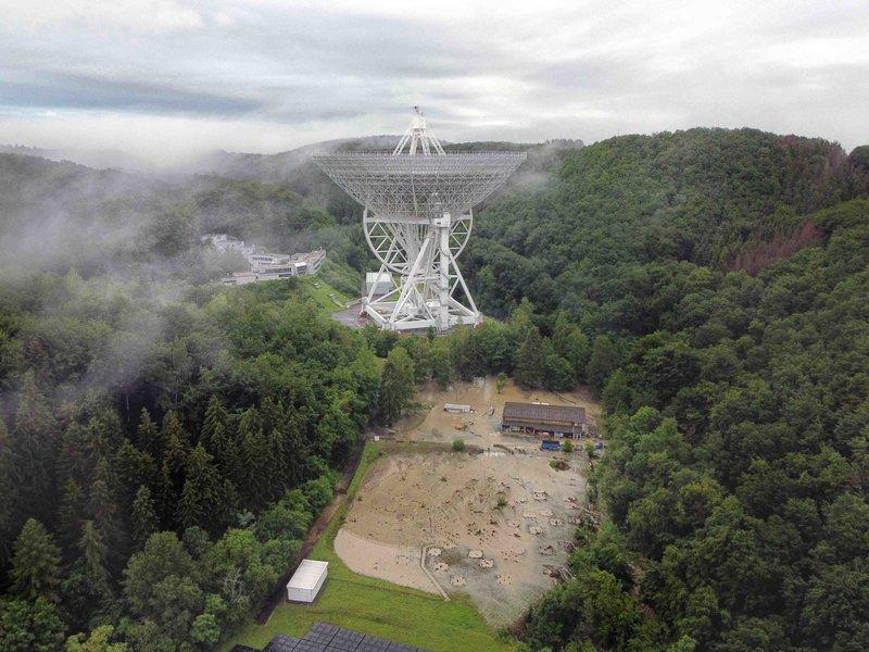 Effelsberg Observatorium Starkregen
